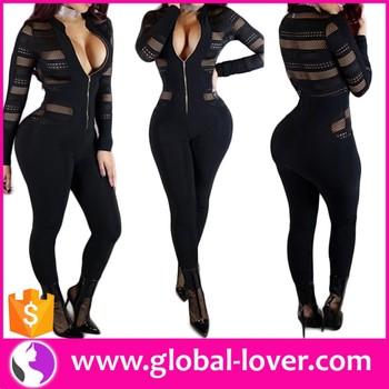 Grosir Eropa Pakaian Jumpsuit Untuk Wanita Gemuk Hitam Mesh Jumpsuit Buy Hitam Mesh Jumpsuit Jumpsuit Untuk Wanita Gemuk Eropa Pakaian Product On