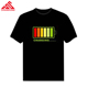 sound activated led t shirt wholesale ,High quality t shirt led