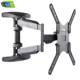 Lcd tv wall mount parts telescopic tv mount for 26''-55''inch up to 45.5kg vesa 100*100-400*300