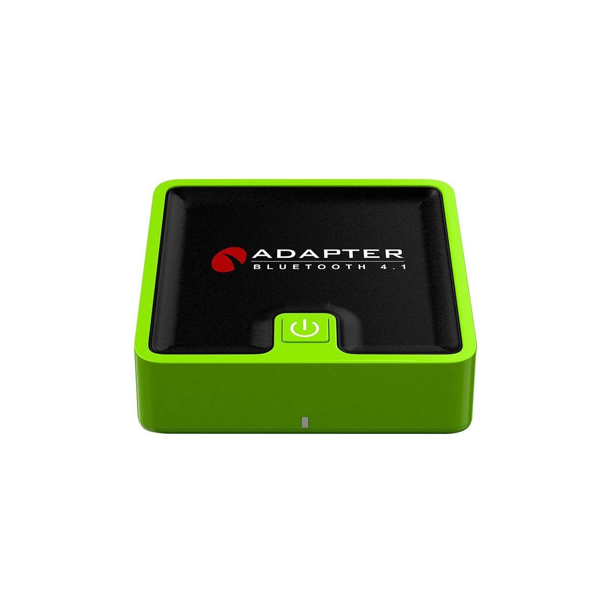 TechCode Bluetooth Transmitter/Receiver, 2 in 1 Digital Optical SPDIF, APT-X Aptx, AUX 3.5mm, Wireless Audio Adapter for TV/Home Stereo System/Headphones/Speakers(Green)