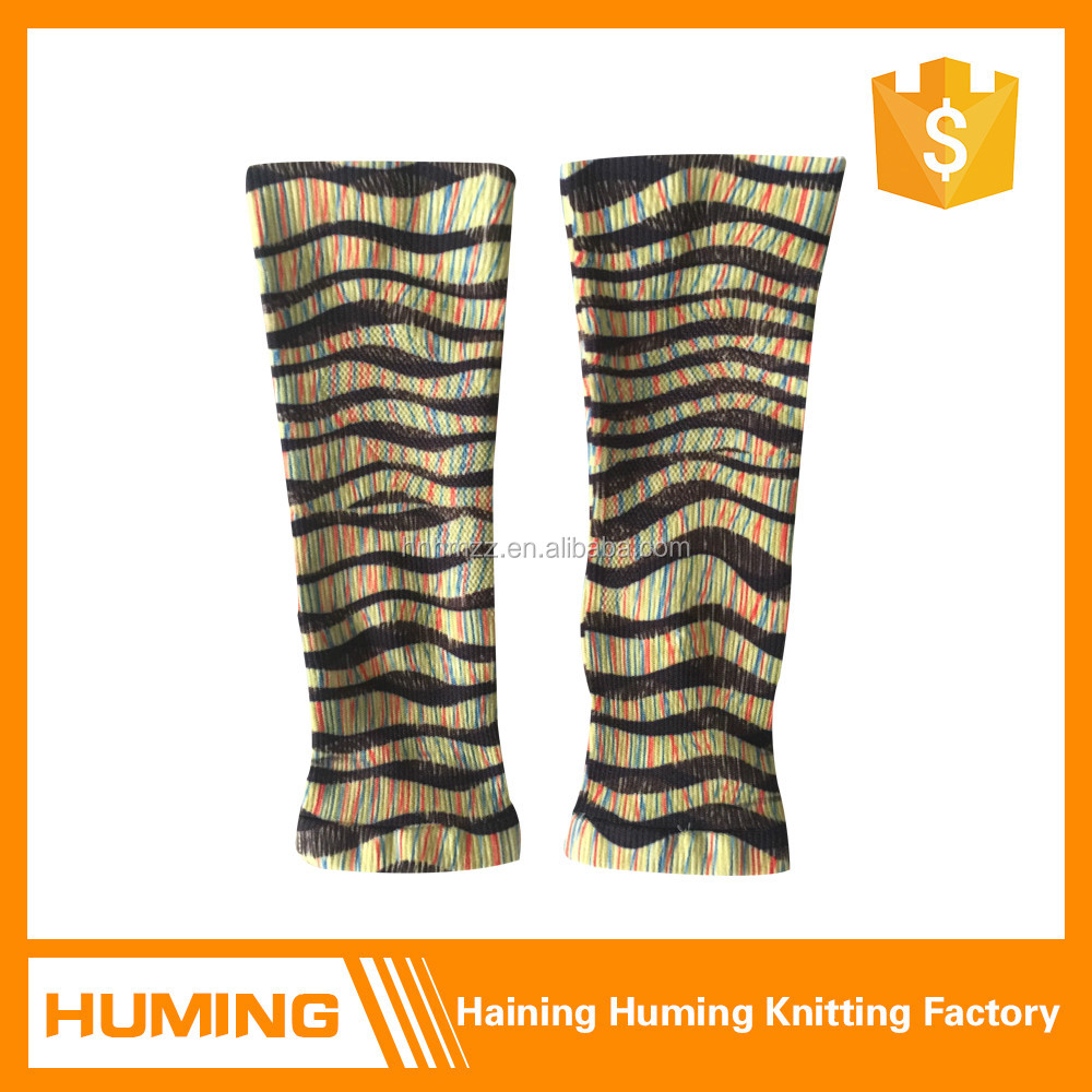 Digital printing sports calf compression sleeve
