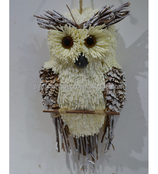 Wild animal christmas ornaments ceiling hanging christmas decoration owl