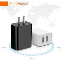 Promotional Gifts Dual Usb Travel Charger 5V 1A 2A USB AC Adaptor USA Plug