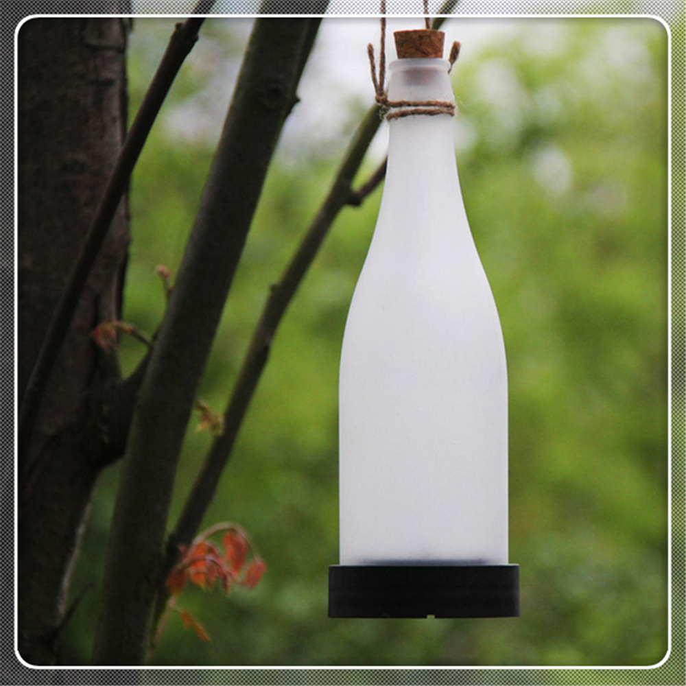 Solar Hanging Beer Bottle Light Solar Glass Bottle Light