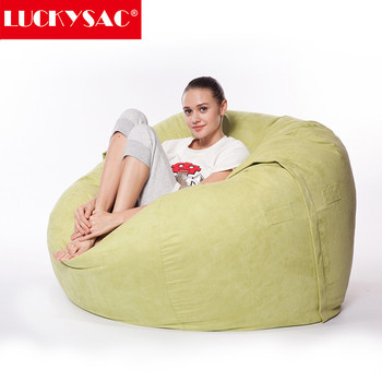 Remarkable Microsuede Cover 7Ft Foam Big Soft Fashion Sitting Bean Bag Filling Cover Buy Foam Bean Bag Cover Bean Bag Filling Sitting Bean Bags Product On Pdpeps Interior Chair Design Pdpepsorg