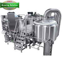 Commercial used 10bbl 15bbl 20bbl 30bbl beer brewery equipment for sale