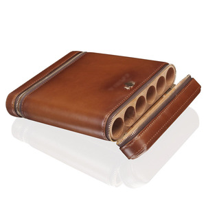 2018 newest cigar case accessory hand make leather cigar box/humidor MLT123