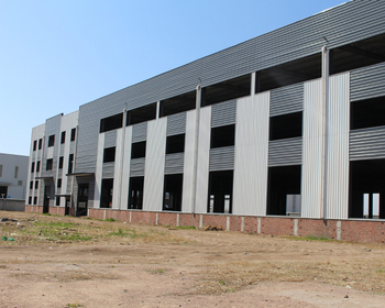 Pre-Built High Rise Ready Made Galvanized Prefabricated Heavy Industrial Steel Structure Warehouse