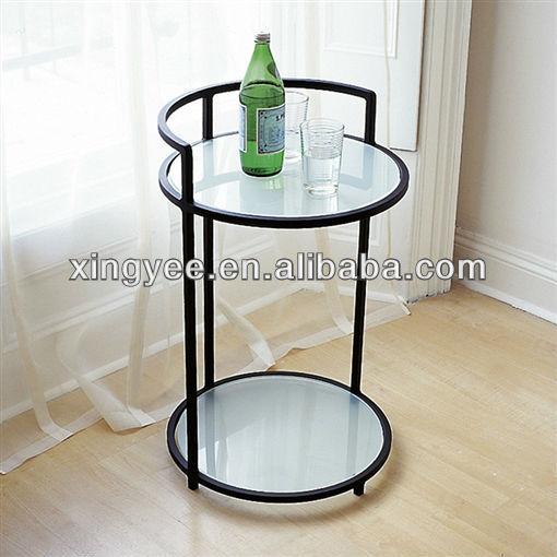 Moderne woonkamer vintage end tafel meubels hotel salontafel ...