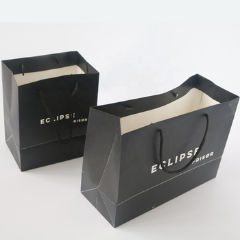 OEM customized cheap recycled gift paper bag for promotional gift