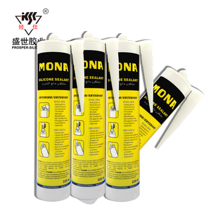 2019 New Arrival Factory Price 300ml Black Silicone Sealant Insulating Glass