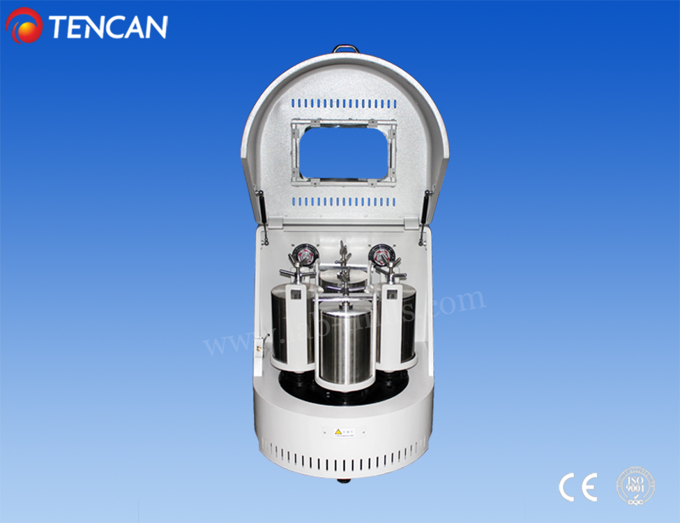 laboratory planetary ball mill make nano scale powder to 0.1 micron meter