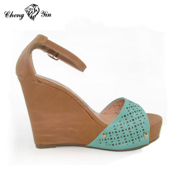 9f670b4892d6 Hot Selling Sexy High Heel Wedge Women Stylish Sandals - Buy Sex ...