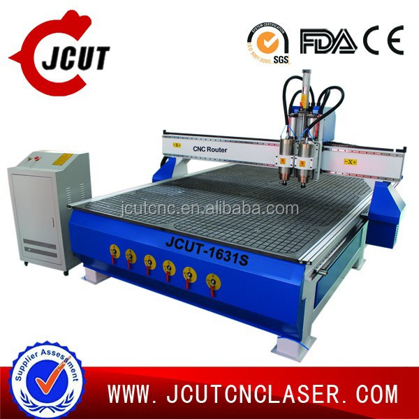 3D Wood Carving CNC Router Machine/Furniture Marking Equipment JCUT-1631S