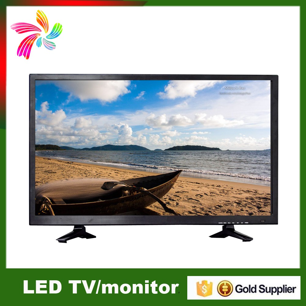 Wholesale High Brightness Cheap Flat Screen TV 32 Inch Portable Wide Screen Smart TV