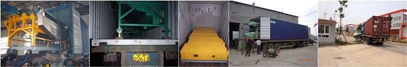 Aluminum alloy and copper scraps recovery machine for incinerated packaging waste