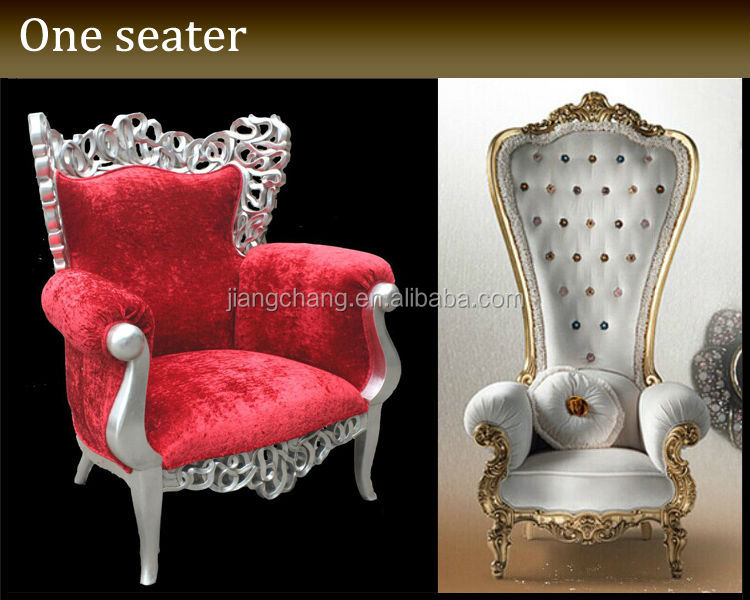 modern luxury royal sofa chair for one seater jc-j02, view royal