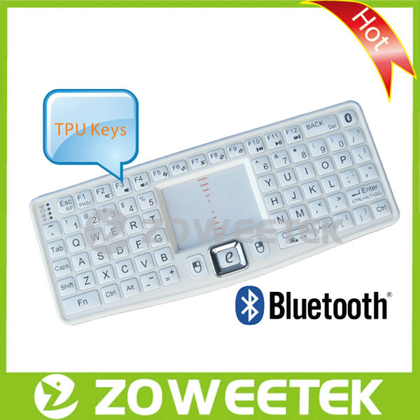 2013 Best Selling Bluetooth Mini Keyboard with Optical Trackpad