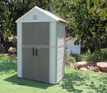 Kinying Brand 2017 Plastic Storage Shed Smart House Movable Backyard Home