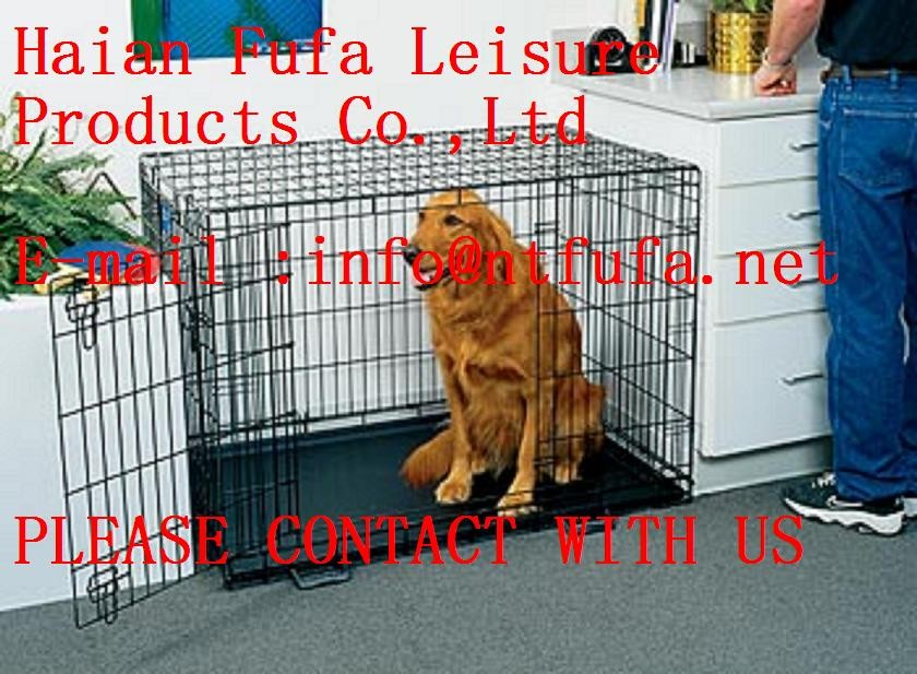 GOOD quality and high Wire Dog Cage and house and kennel