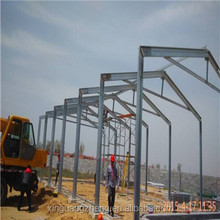 prefab steel structure barn for farm cattle breeding industry
