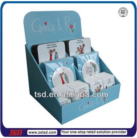 Tsd-c746 Custom Retail Store Countertop Cardboard Book Display Box ...