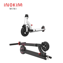 INOKIM LIGHT foldable double wheel kick 6 inch electric scooter for delivery eec