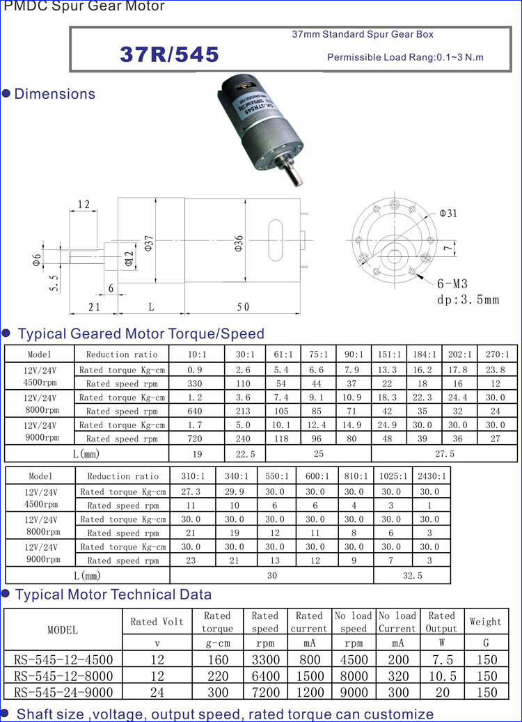 37mm high torque low rpm 1 5 volt dc motor buy 1 5 volt dc motor 37mm high torque low rpm 1 5 volt dc motor sciox Image collections
