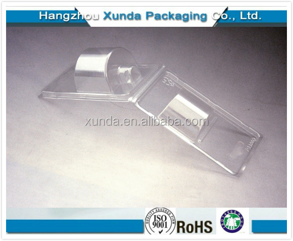 Plastic Container with Hinge Lid/ PET Container with Lid Stay Hinge