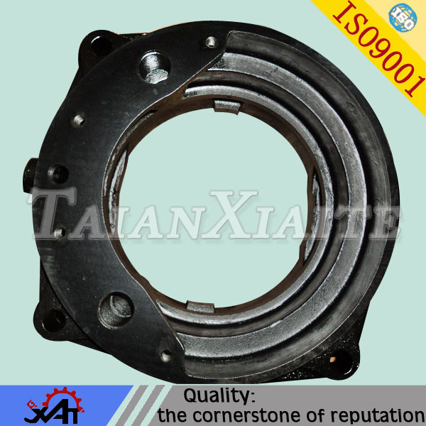 agricultural machinery parts ductile iron casting resin sand casting machining axle shaft cover for tractor spare parts