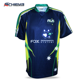 7505879e2 2019 New Design breathable Wholesale Sublimation Fast Drying rugby jerseys  for team wear