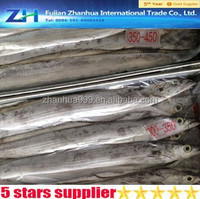 [Ribbon Fish] Frozen goods low price for market sales restaurant high quality sell bulk whole round fish