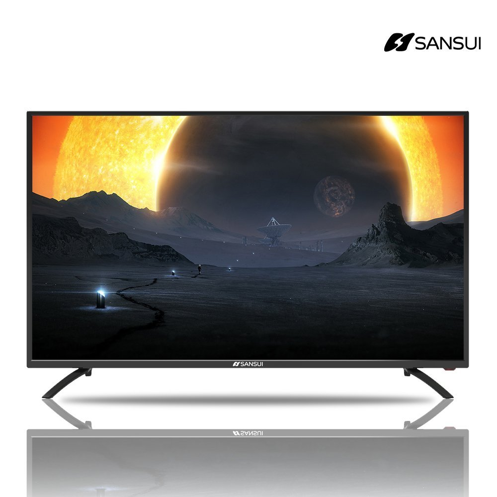 Sansui SLED4319 HD TV 43 Inch 1080p Full-HD LED TV 60Hz Flat Screen LED TV Monitor for Home Entertainment, PS4, Xbox One, Blu-ray, PS3, Xbox 360 Slim, PC, Video Gaming DVD