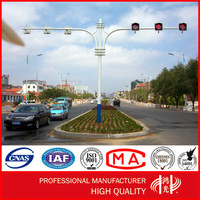 6.5m Traffic lights Signal Steel Pole