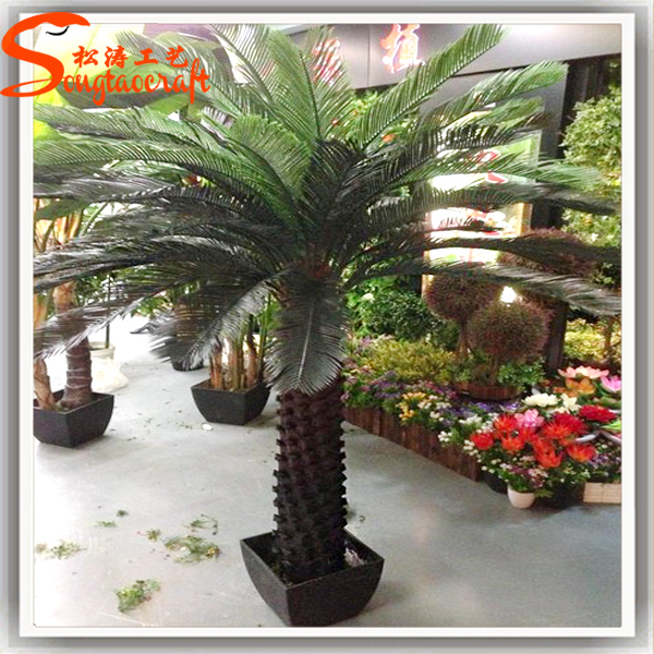 2015 China Factory Cheap Indoor Large Fake Plastic Artificial Plants Pots Wholesale Plant Stands Bonsai Palms
