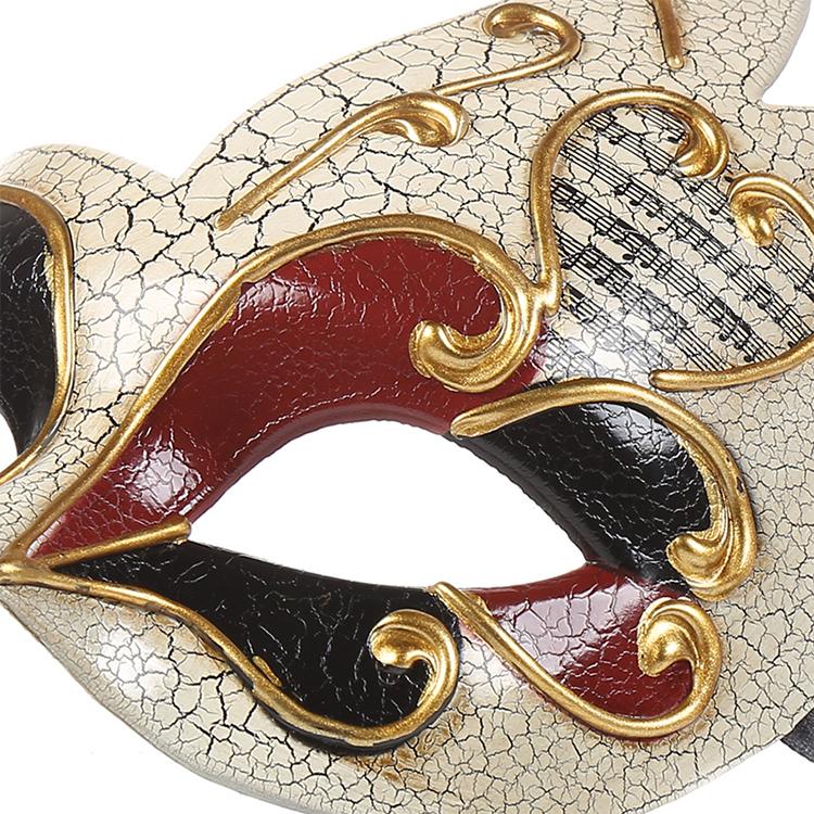 Poeticexs Masquerade Venesia Topeng Pesta Vintage Venetian Retak Topeng Pesta Seks Kostum Dekorasi Baru Masker