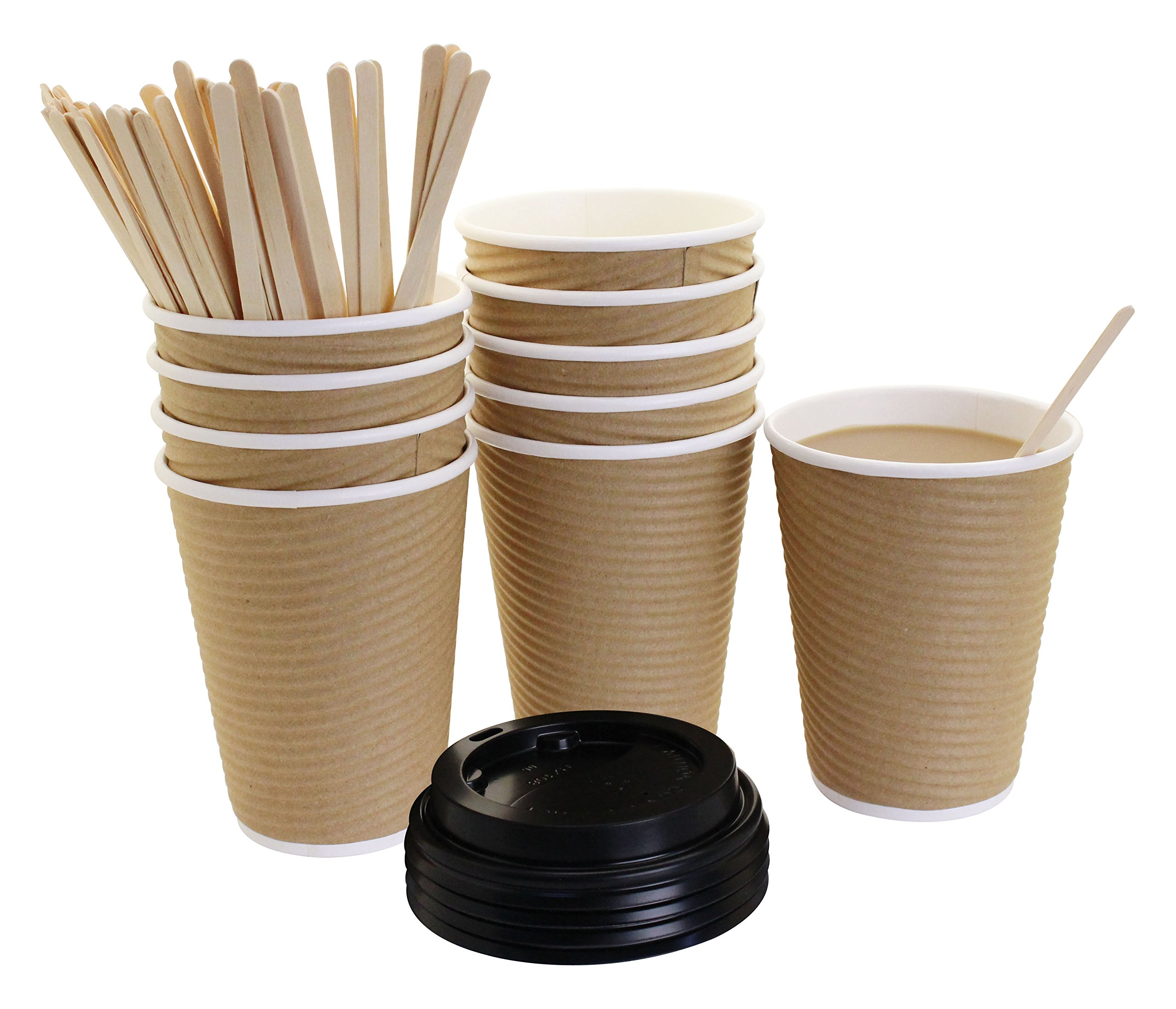 Cheap Paper Coffee Cups With Lids And Sleeves, find Paper ...