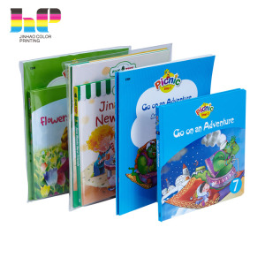 High quality children educational comic adhesive sticker book printing