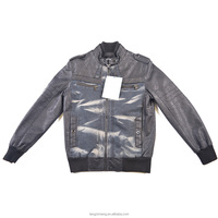 Buy Half Leather Jacket For Men in China on Alibaba.com