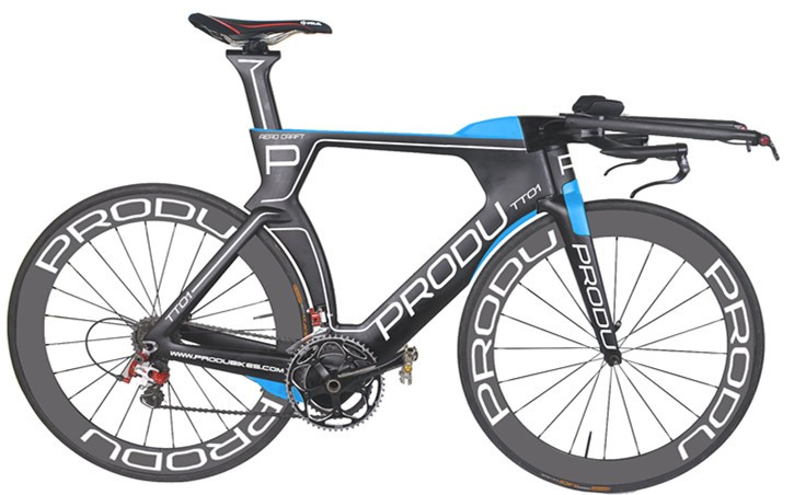 Baolijia New Design OEM 2017 Carbon Time Trial Bike China