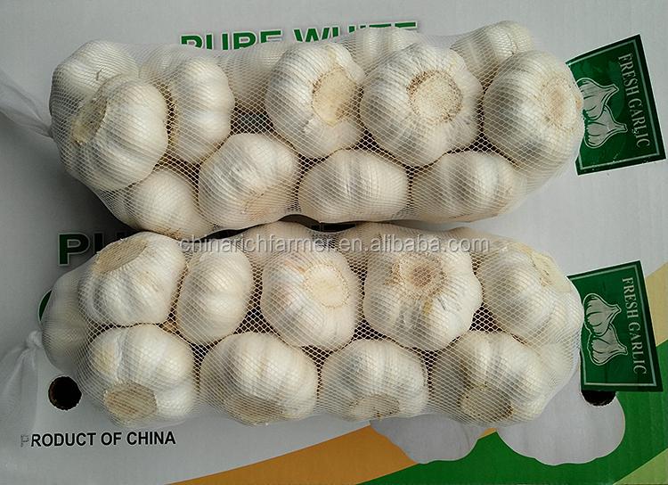 Natural da China fresco alho branco puro e fresco branco