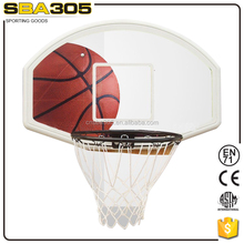 mini basketball rims with plastic basketball backboard
