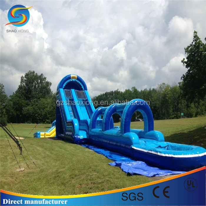 large inflatable pool slide large inflatable pool slide suppliers and manufacturers at alibabacom - Inflatable Pool Slide