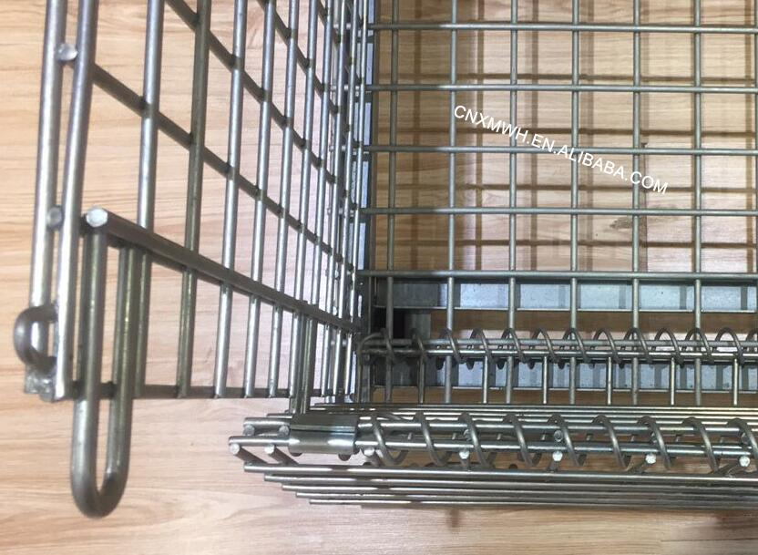 Collapsible Wire Mesh Cages
