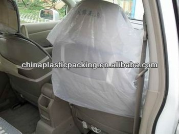 Transparent Plastic Clear Car Seat Covers