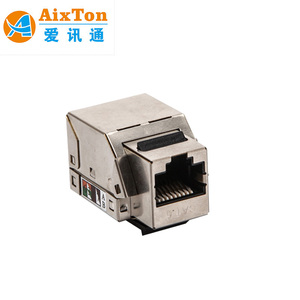RJ45 Cat6 Cat6A cat7 Keystone Jack Module used lan cable for rj45 connector plugs lan cable