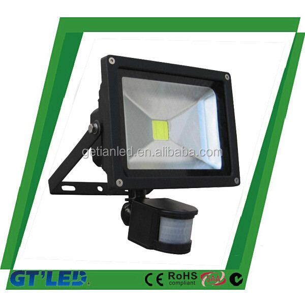Outdoor Motion sensor light, 220 volt led flood light with motion sensor from Shenzhen factory