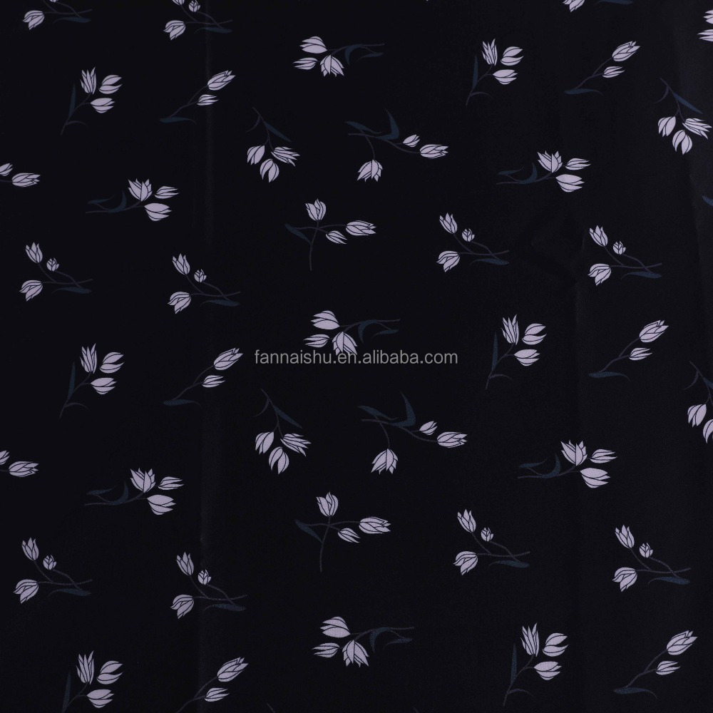 "1.5M BLACK POLYESTER CREPE FABRIC  58/"" WIDE"