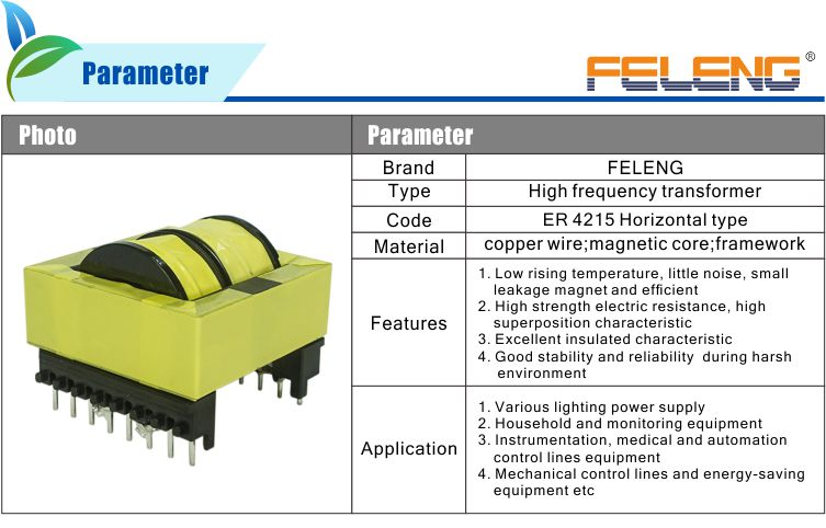 china supplier dry type er4215 flyback transformer high frequency chock  coil for inverter, View er4215 transformer coil, Feieng Product Details  from