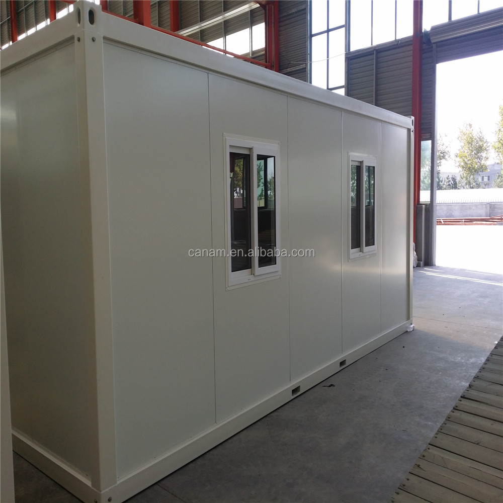 low cost modern flat pack prefabricated container house in Qingdao Port